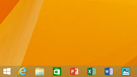 Скриншот Windows 8.1 Update 1 Spring Update