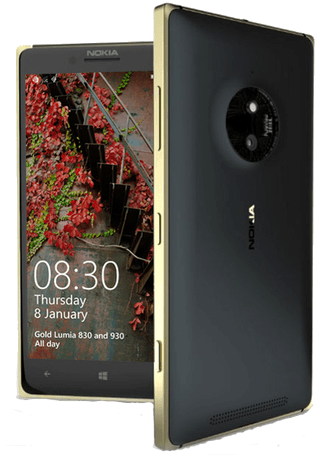 Nokia Lumia Gold