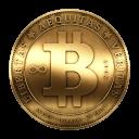 Монета биткойн в реальном мире :)